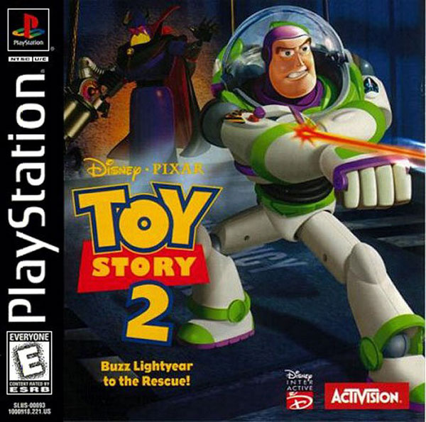 Disney's Toy Story 2 - Buzz Lightyear to the Rescue Front Cover